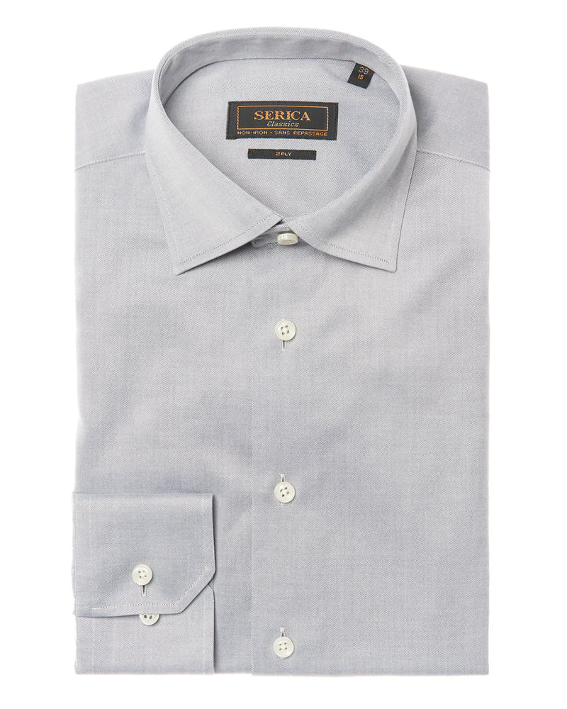 Grey Dress Shirt • Contemporary Fit