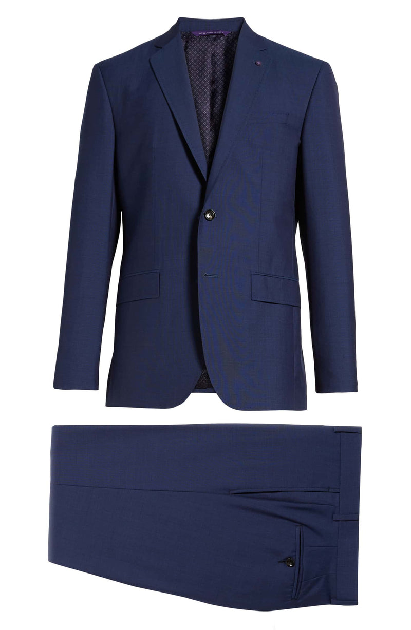 """JAY"" Blue • Slim Fit Suit • Ted Baker"
