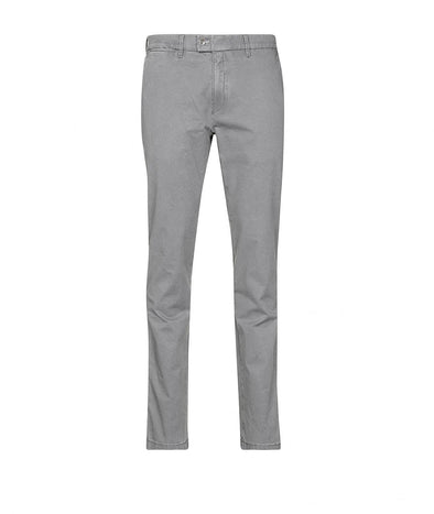 Brax - Grey Frederic Printed Cotton Slim Fit Chino