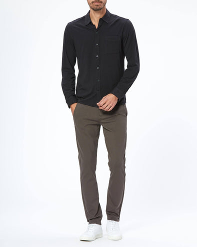 Stafford Trouser - Black Olive - Slim Fit Trouser - PAIGE
