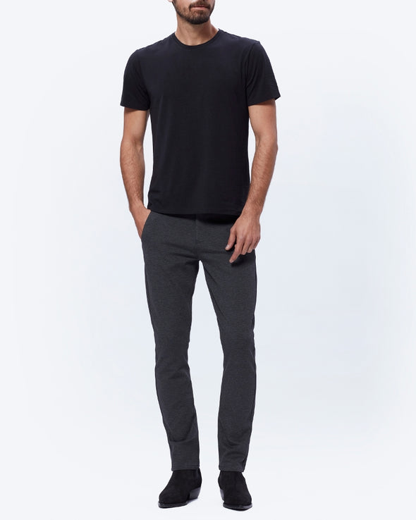 Stafford Trouser - Iced Black - Slim Fit Trouser - PAIGE