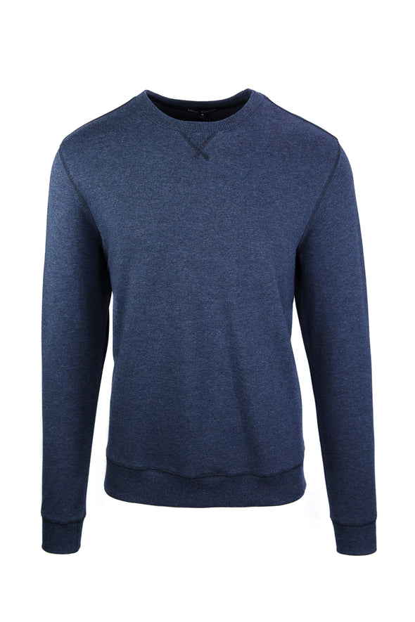 Navy Stalworth Crewneck Sweatshirt