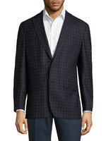 """Esprit"" • Blue Check • JACK VICTOR • CONTEMPORARY FIT • SPORT JACKET"