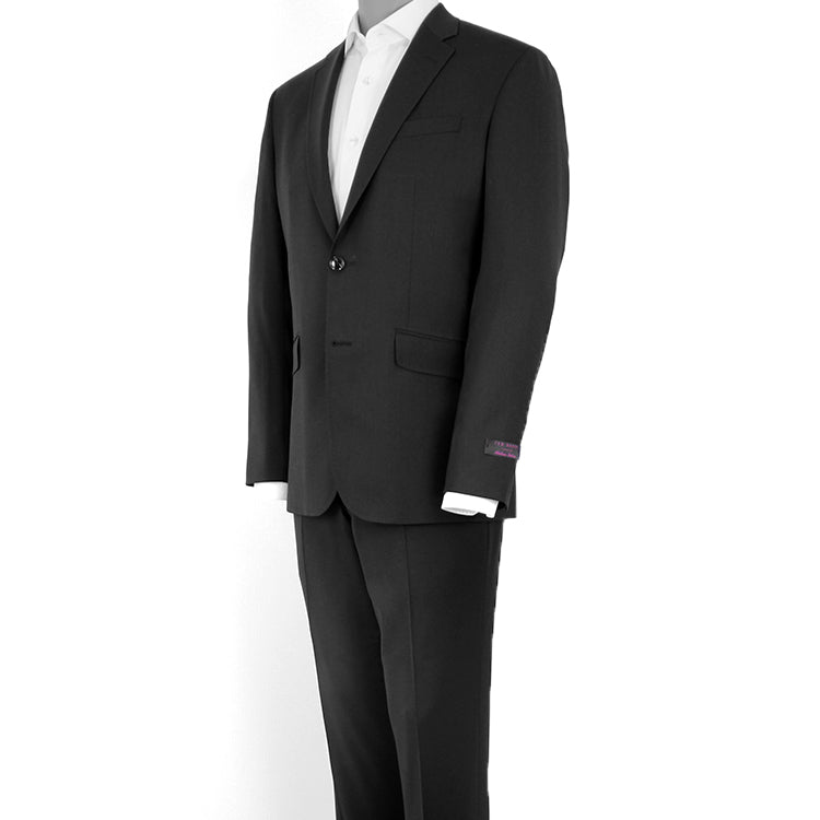 """Endurance"" Black • Slim Fit Suit"
