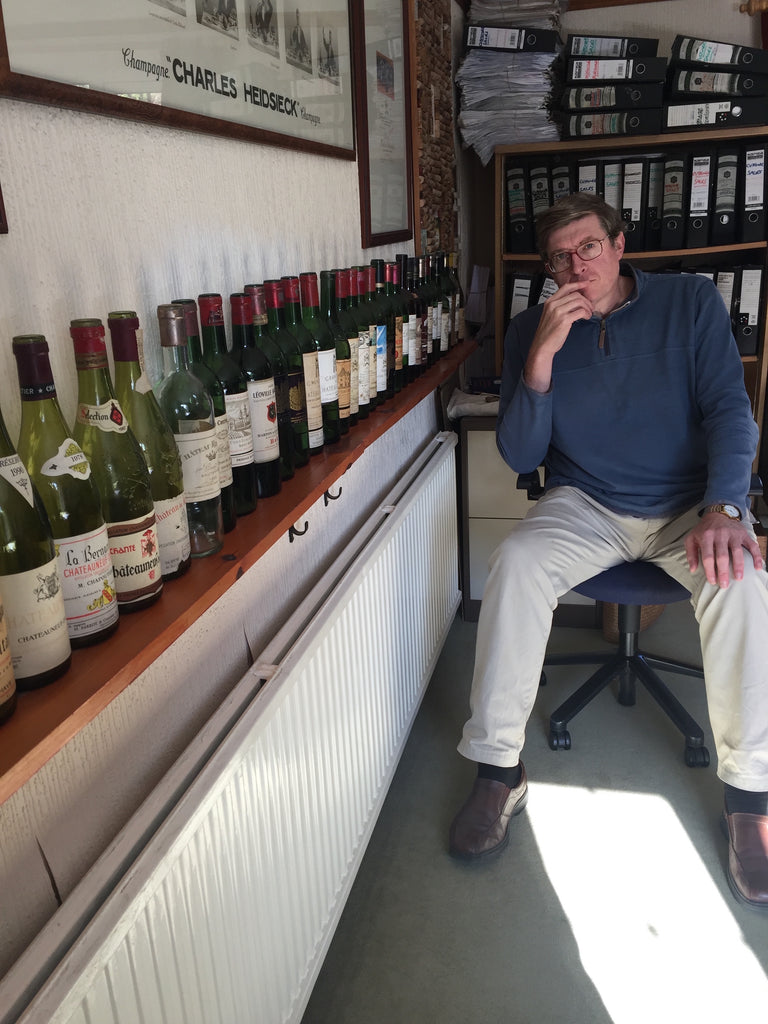Wine Talks British Business with Richard Brazier from Ancient and Modern wines