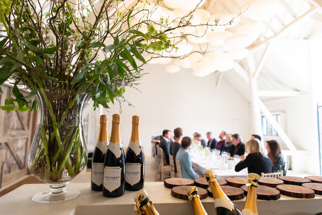 Fine dining and wine tasting with Nyetimber