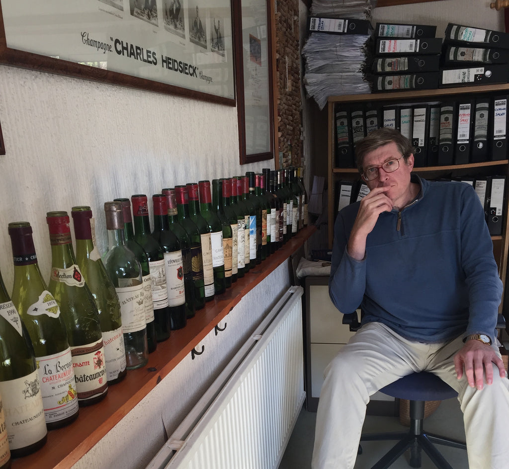 Video of Wine Talks British Business with Richard Brazier from Ancient and Modern wines
