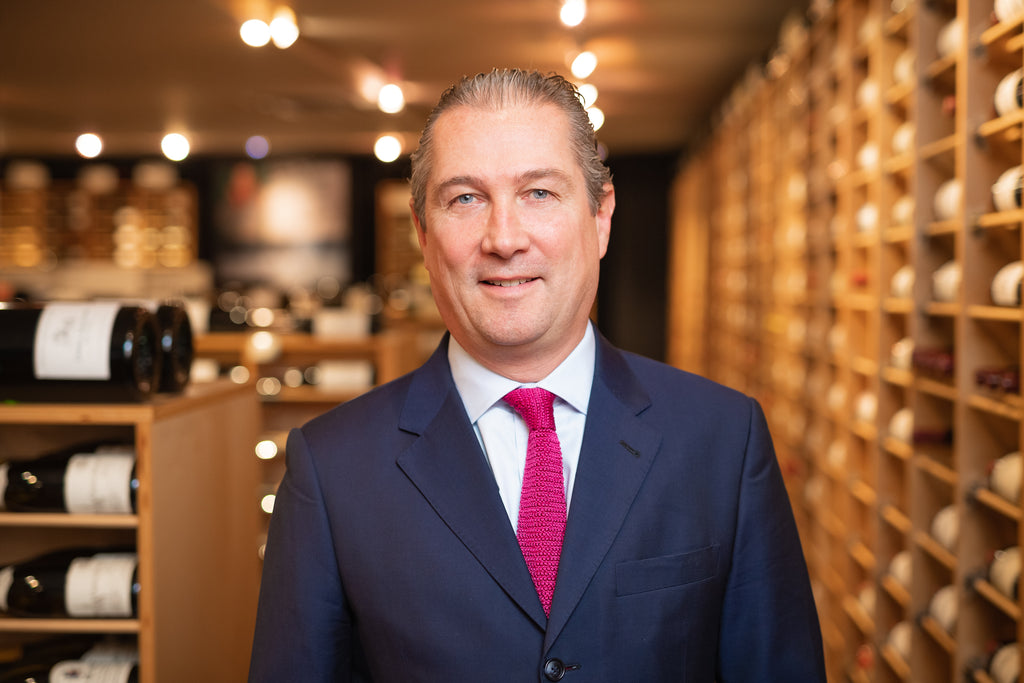 Wine Talks British Business with Jamie Ritchie  Chairman Sotheby's Wine Worldwide