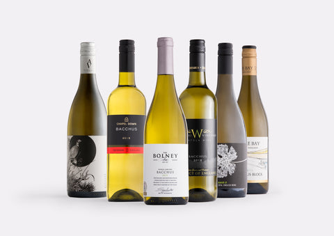 English Bacchus white wine mixed case | Curated Case Collection
