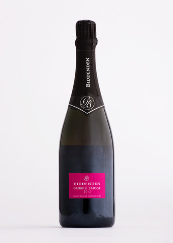 Biddenden Gribble Bridge Sparkling Rose Wine The English Wine Collection