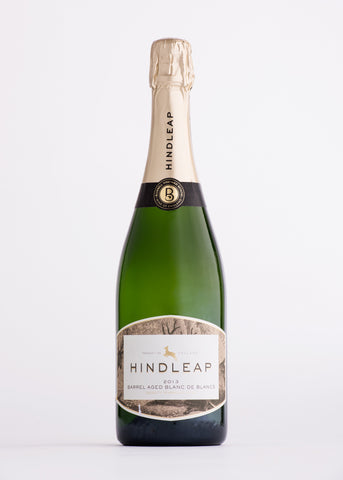Hindleap Barrel aged Blanc de Blanc Sparkling White The English Wine Collection