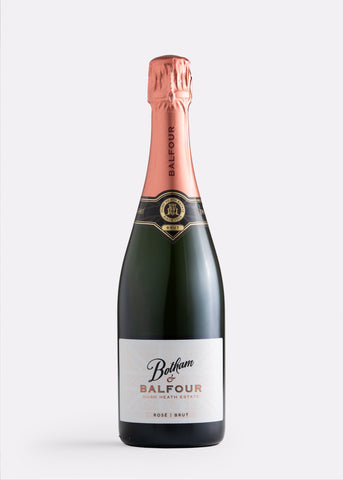 Botham and Balfour hush heath english sparkling rosé
