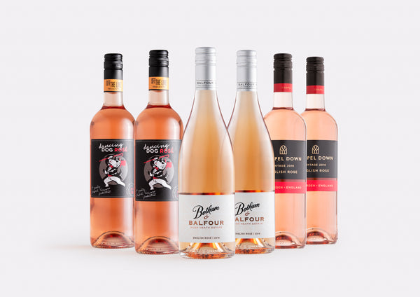 The Classic English Rosé Case | Curated Case Collection