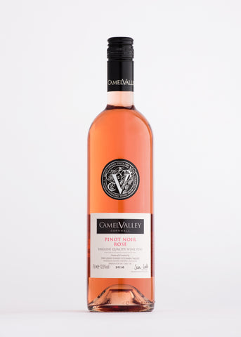 Camel Valley Rosé wine The English Wine Collection