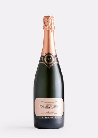 Camel Valley Sparkling Pinot Noir Rosé Brut English wine