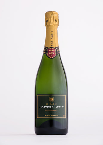 Coates and Seely Brut Reserve sparkling white wine  from The English Wine Collection