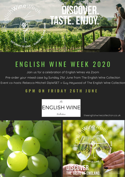 English Wine Week Online Tasting Event 2020 Wine Case