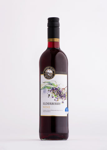 Lyme bay Fruit Elderberry Wine  The English Wine Collection