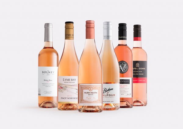 Mixed English Rosé Case | Curated Case Collection