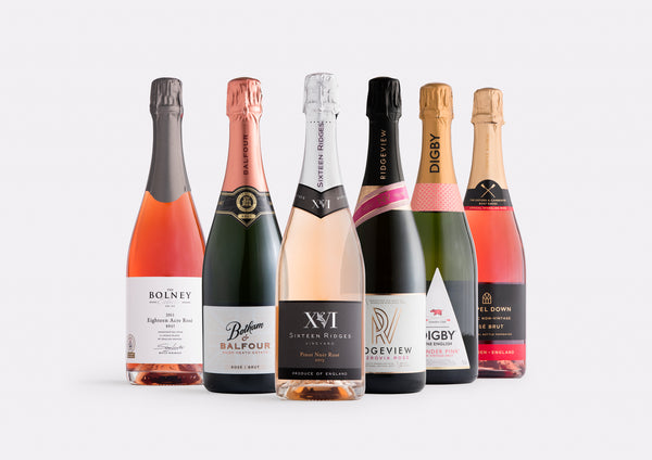 Mixed Sparkling Rosé Case  | Curated Case Collection