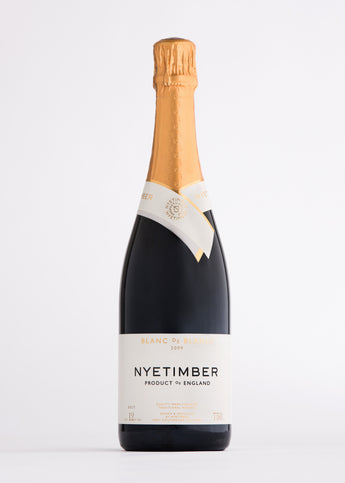 Nyetimber Blanc de Blanc Brut Sparkling wine from the English Wine Collection