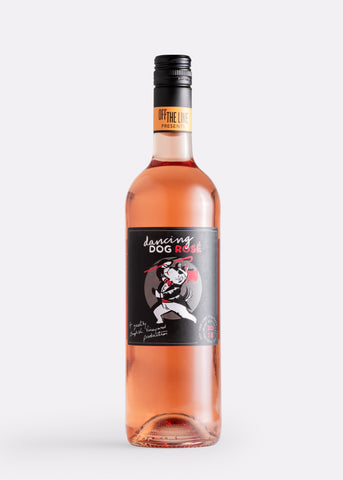 Off The Line Dancing Dog Rosé English rose wine