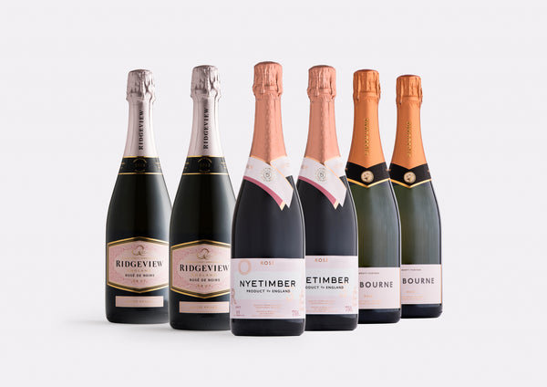 Prestige Sparkling Rosé case | Curated Case Collection