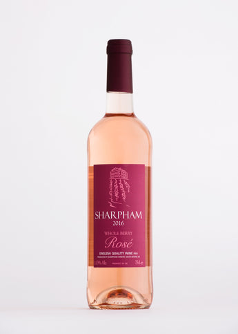 Sharpham Whole Berry Rosé English Rosé Wine The English Wine Collection