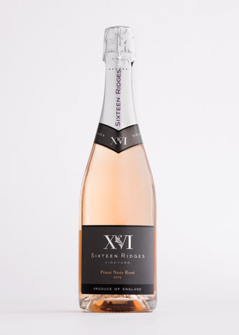 Sixteen Ridges Sparkling Rosé 2013 from the English Wine Collection