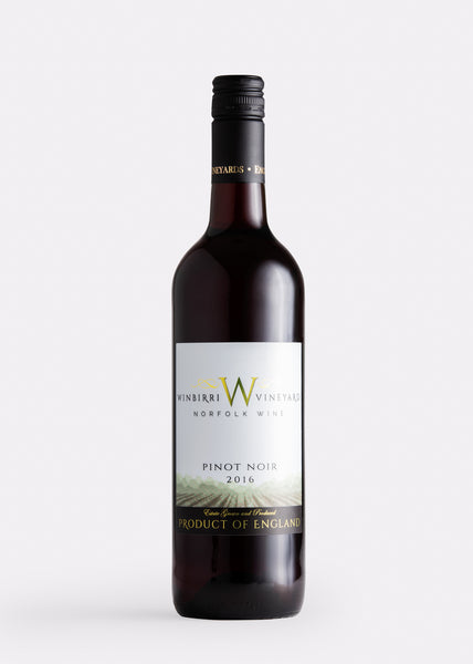 Winbirri Pinot Noir english red wine the english wine collection