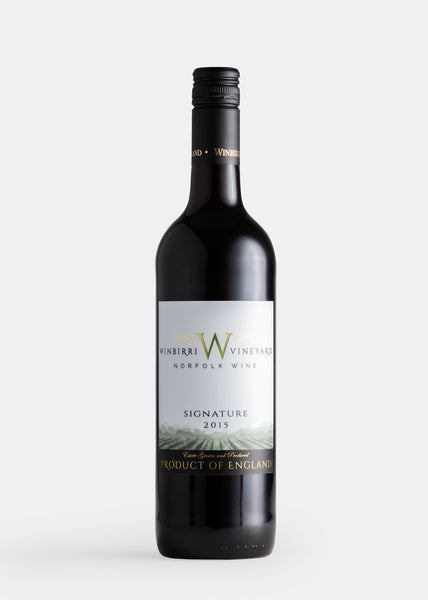 Winbirri signature red the english wine collection english red wine