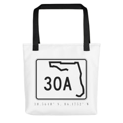 County Road 30A Tote Bag