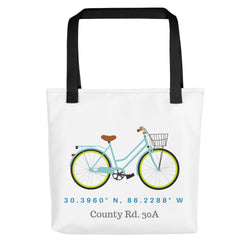 30A Bike Ride Tote bag