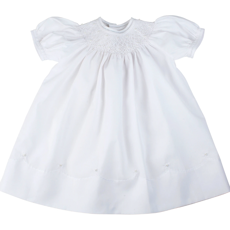 MIDGIE DRESS PUFF SLEEVES