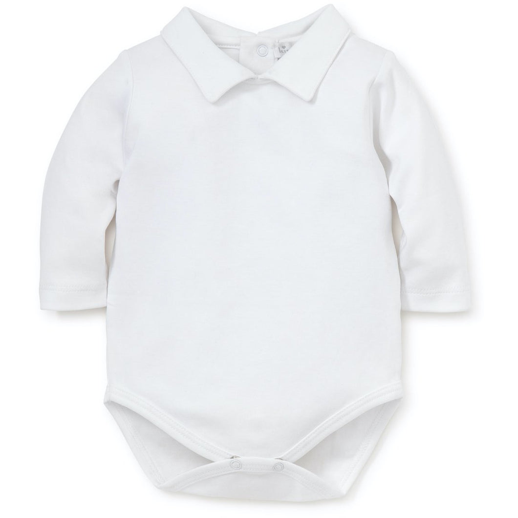 LS ONESIE WITH COLLAR