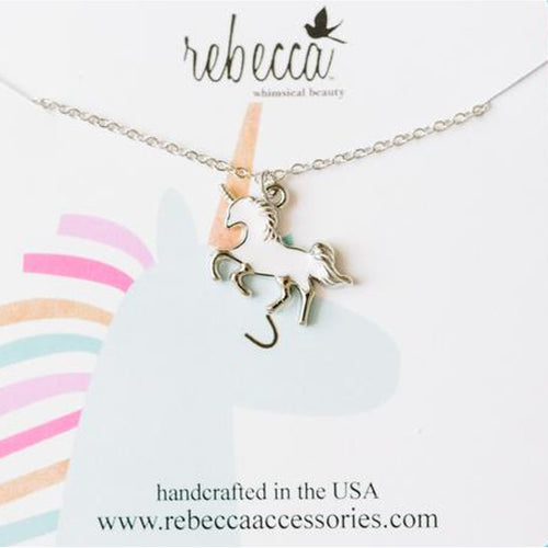 GALLOPING UNICORN NECKLACE