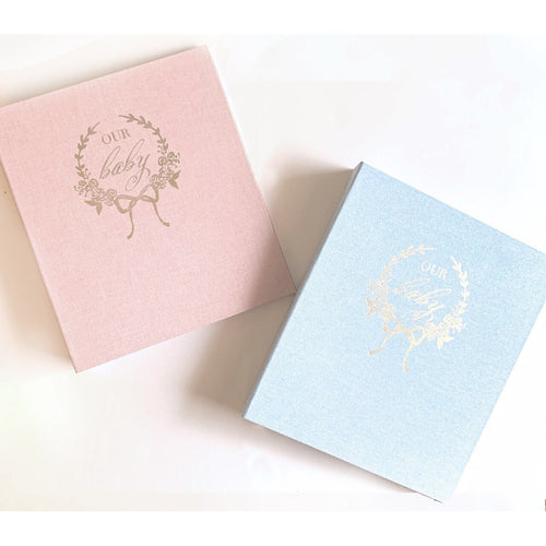 OUR BABY MEMORY BOOK BLUE