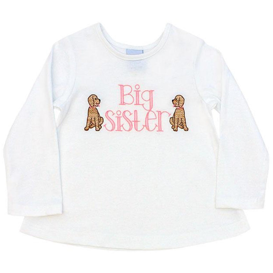 BIG SISTER LS TEE SHIRT