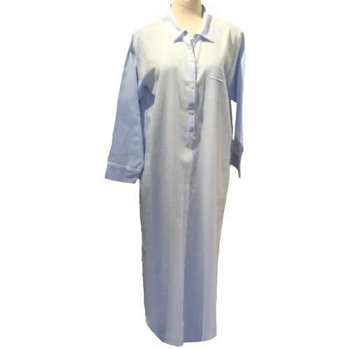 FLANNEL LONG NIGHTSHIRT
