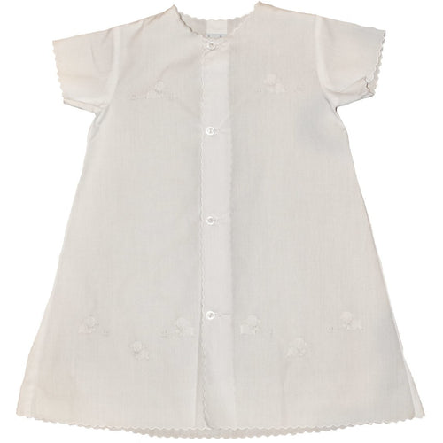 S/S DAY GOWN TINY LAMBS