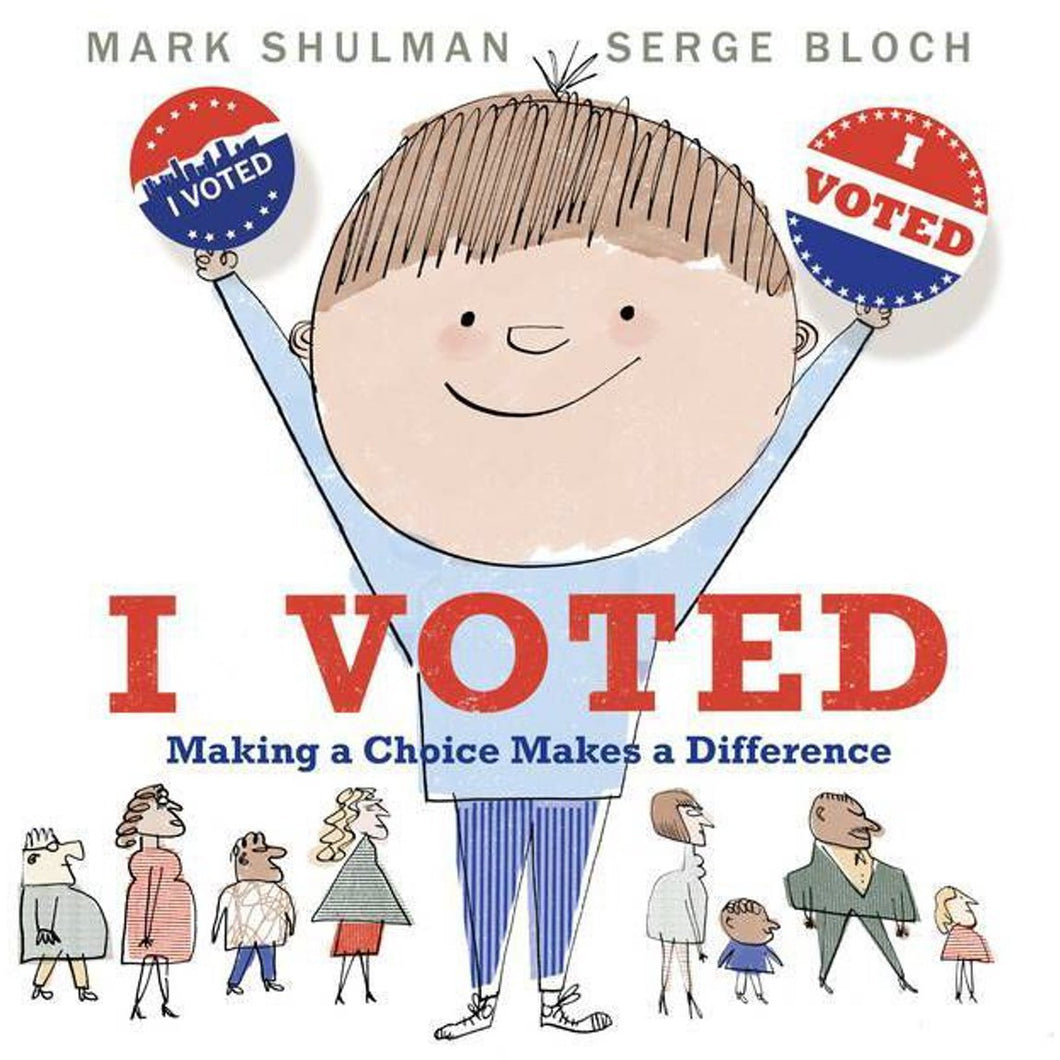 I VOTED BOOK
