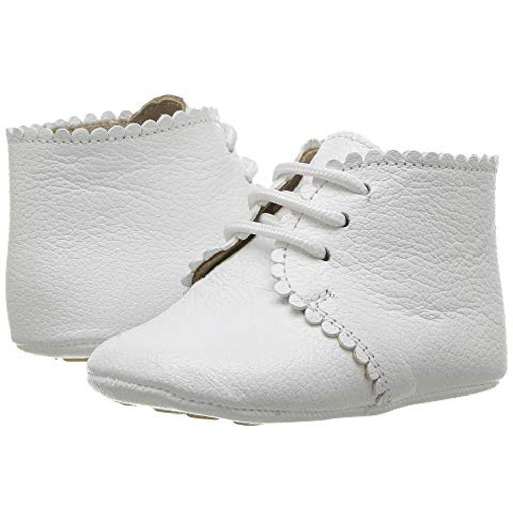 SCALLOPED BABY BOOTIE