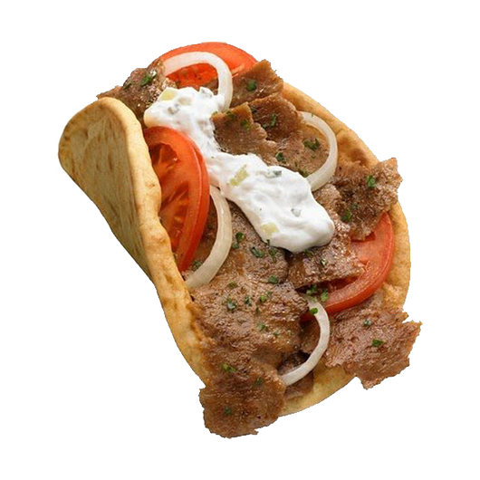 Large Authentic Gyro with Tzatziki Sauce