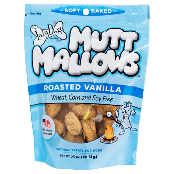 Lazy Dog Cookie - Mutt Mallows Roasted Vanilla Treats