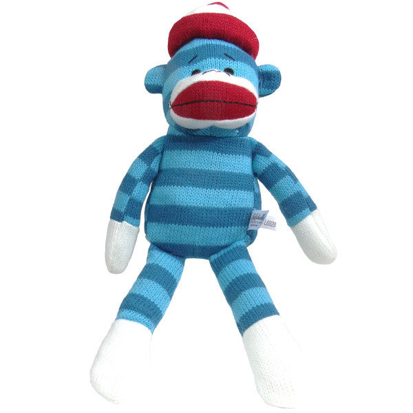 Lulubelles Sock Monkey Plush Toy