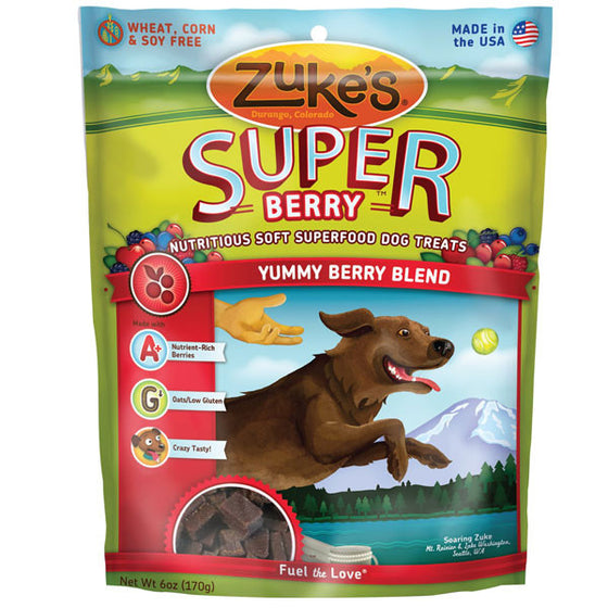 Zukes Super Yummy Berry Blend