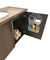 Over The Door Kitchen & Bathroom Cabinet Vanity Organizer (Cabinet/Vanity Organizer)