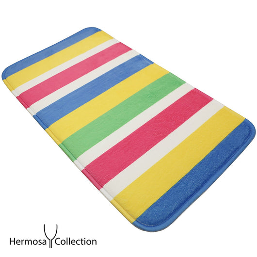 Hermosa Collection Colorful Bathroom Shower Mat