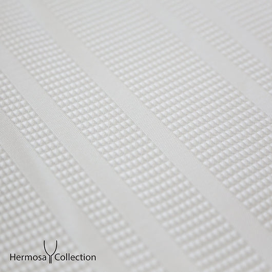 Hermosa Collection Heavy Fabric 230 GSM Waffle Shower Curtain 72