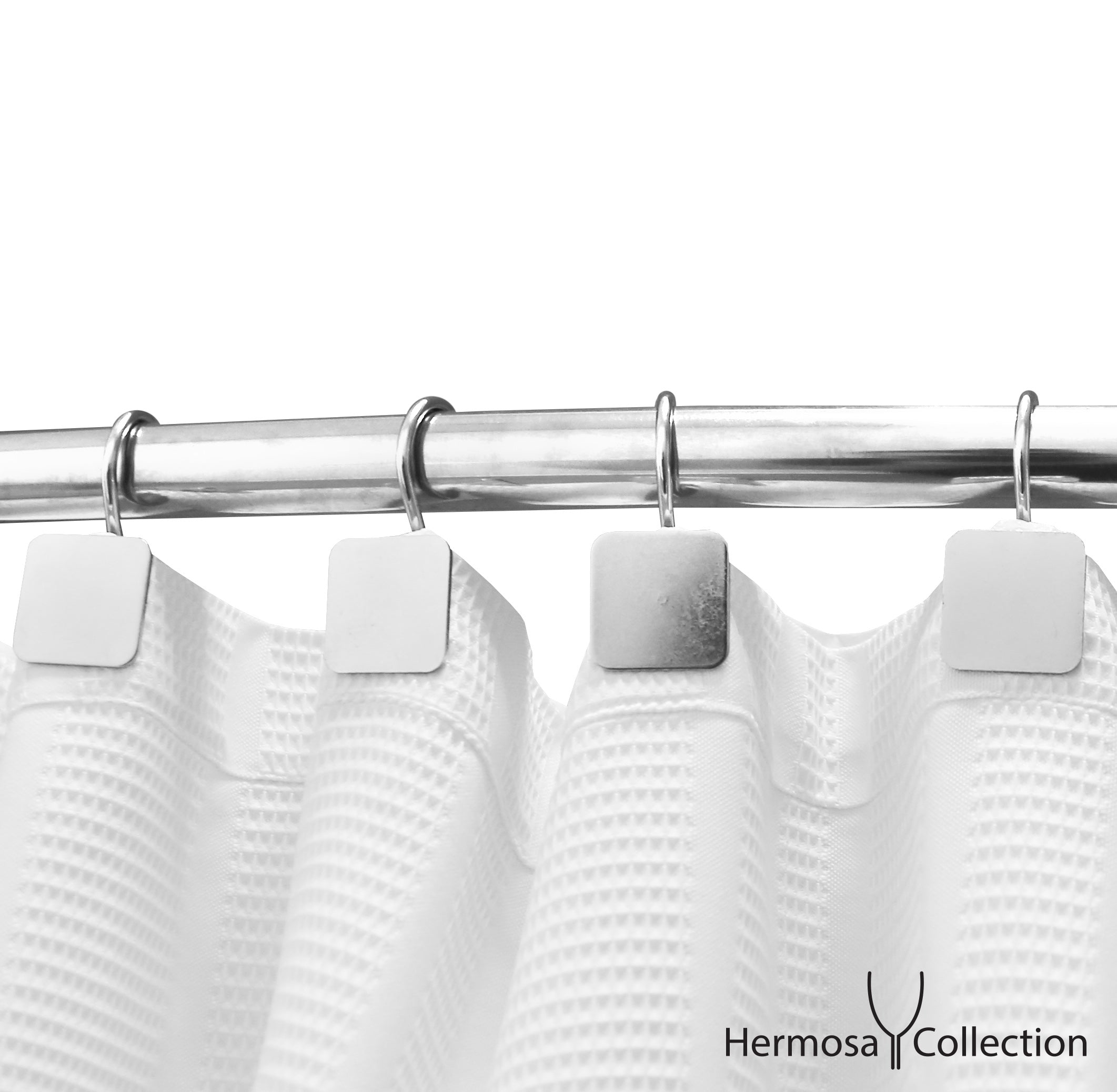 Shower Curtains Hooks Liners Hermosa Collection